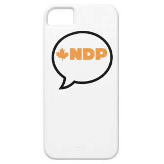 NDP ON THE PHONE: Start the conversation iPhone SE/5/5s Case