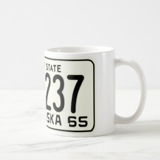 NE65 CLASSIC WHITE COFFEE MUG
