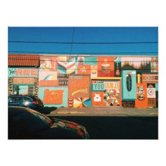 NE Alberta Mural Art Photo