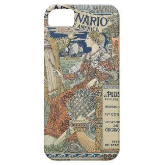 Ne más ultra. Reino de Espana de Eugène Grasset iPhone 5 Carcasas