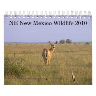 NE New Mexico Wildlife 2010 Calendar