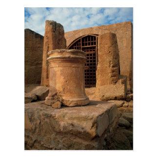 Nea Paphos, las tumbas de los reyes, Chipre Tarjeta Postal