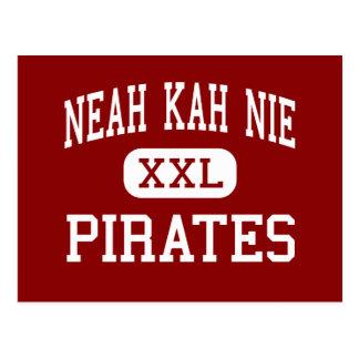 Neah Kah Nie - piratas - alto - playa de Rockaway Postal