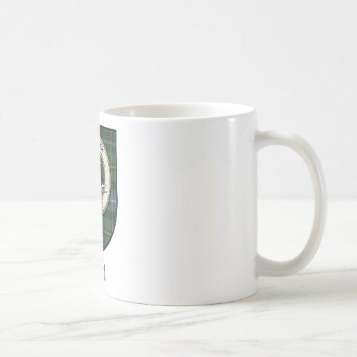 Neal Clan Crest Badge Tartan Classic White Coffee Mug
