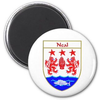 Neal Coat of Arms/Family Crest Magnet
