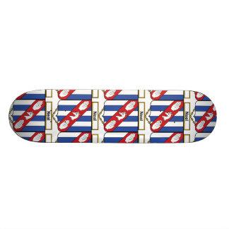 Neal Family Crest Custom Skateboard