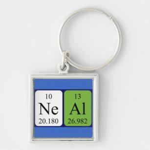 Neal keychains zazzle neal periodic table name keyring urtaz Gallery