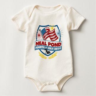 Neal Pond 2014 - Badge Baby Bodysuit