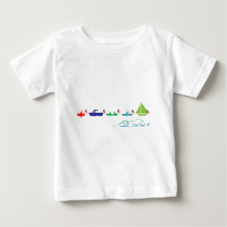 Neal Pond Boat Parade Baby T-Shirt