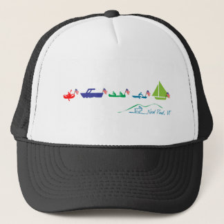 Neal Pond Boat Parade Trucker Hat