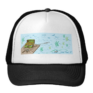 Neal Pond Fishing Mesh Hat