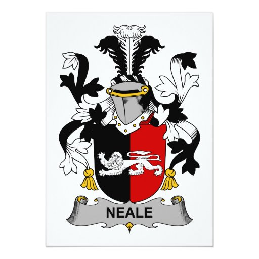 Neale Family Crest Card