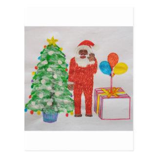 Neanderthal Christmas Postcard