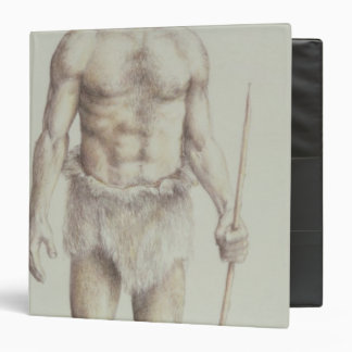 Neanderthal Man 3 Ring Binder