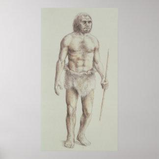 Neanderthal Man Posters