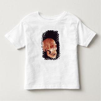 Neanderthal Skull, discovered on Mt Carmel Toddler T-shirt