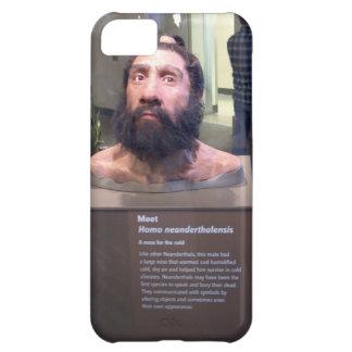 Neanderthalensis del homo; objeto expuesto del mus