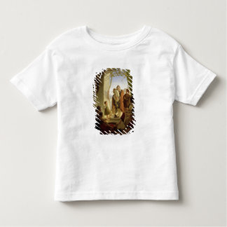 Neapolitan bagpipe player in wintry Rome, 1833 Toddler T-shirt
