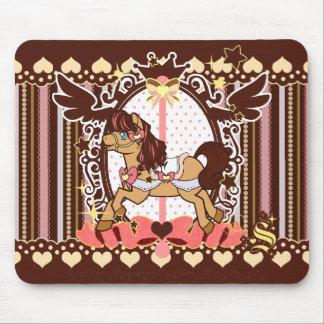 Neapolitan Carousel - Mousepad