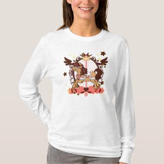 Neapolitan Carousel - women long sleeve T-Shirt