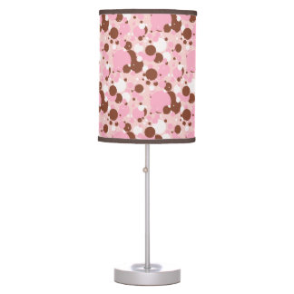 Neapolitan Dots 01-Lt Pink-TABLE LAMP