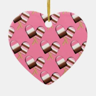 Neapolitan Ice Cream Bars 01-HEART ORNAMENT