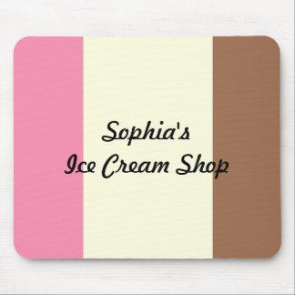Neapolitan Ice Cream Mouse Pad