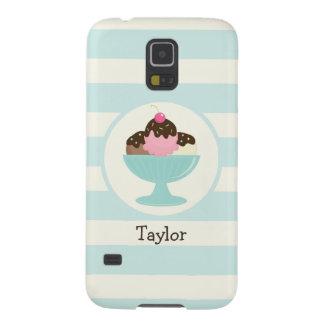 Neapolitan Ice Cream Sundae; Cherry & Sprinkles Cases For Galaxy S5