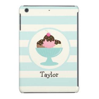 Neapolitan Ice Cream Sundae; Cherry & Sprinkles iPad Mini Cover