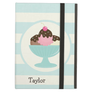 Neapolitan Ice Cream Sundae; Cherry & Sprinkles iPad Air Case