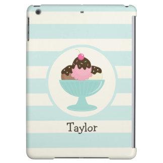 Neapolitan Ice Cream Sundae; Cherry & Sprinkles iPad Air Cases