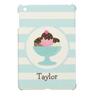 Neapolitan Ice Cream Sundae; Cherry & Sprinkles Cover For The iPad Mini