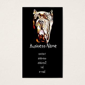 Neapolitan Mastiff Business Card