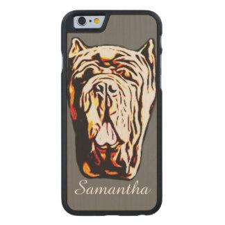 Neapolitan Mastiff Carved® Maple iPhone 6 Slim Case