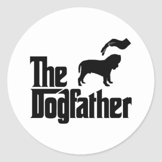 Neapolitan Mastiff Classic Round Sticker