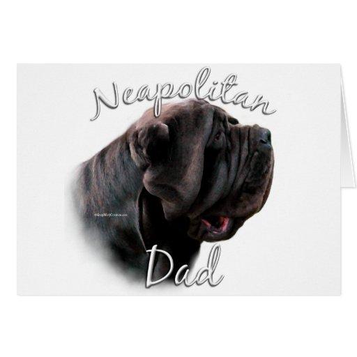 Neapolitan Mastiff Dad 2 Greeting Card