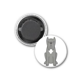 Neapolitan Mastiff Dog Cartoon Fridge Magnet