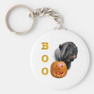 Neapolitan Mastiff Halloween BOO Keychain