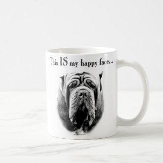 Neapolitan Mastiff Happy Face Coffee Mug