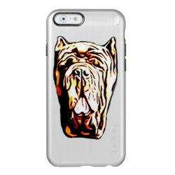 Incipio Feather® Shine iPhone 6 Case with Mastiff Phone Cases design