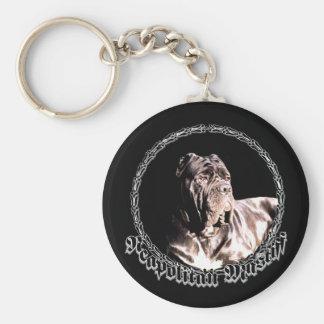Neapolitan mastiff keychain