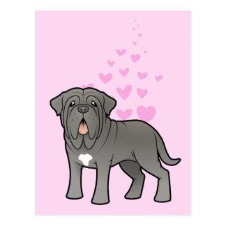 Neapolitan Mastiff Love Postcard