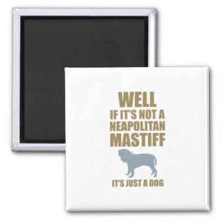 Neapolitan Mastiff Fridge Magnet