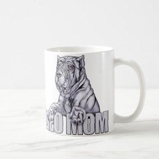 Neapolitan Mastiff Mom Blue Mug