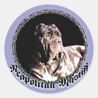 Neapolitan mastiff sticker
