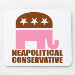 Neapolitical Conservative Mouse Pad