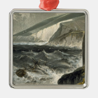 Near Beachy Head, from 'A Voyage Around Great Brit Christmas Ornaments