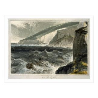 Near Beachy Head, from 'A Voyage Around Great Brit Postcard