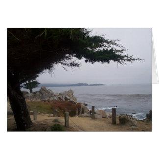 Near Carmel (greeting card blank inside)