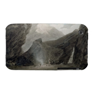 Near Chiavenna in the Grisons, c.1779 (w/c, black Case-Mate iPhone 3 Cases